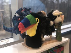 New Day High Point Play Therapy Room Puppets