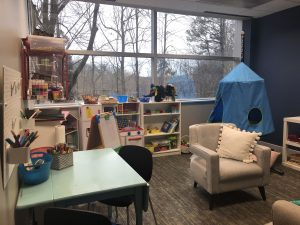 New Day High Point Play Therapy room