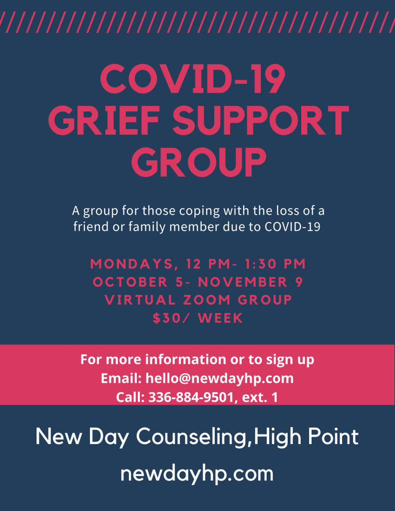 COVID 19 Grief Support Group