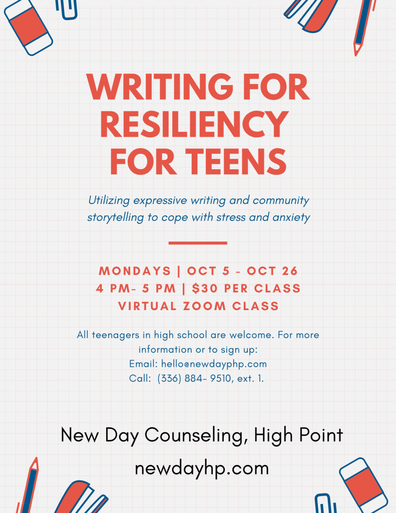 New Group for Teens in October
